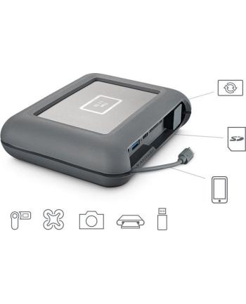 Dysk zewnętrzny LaCie DJI Copi, 2.5'', 2TB, USB 3.1