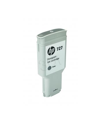 Tusz HP 727 grey | 300 ml | HP DesignJet T1500/T1530/T2500/T2530/T920/T930