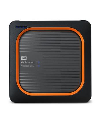 western digital Dysk zewnętrzny WD My Passport Wireless SSD 1TB srebrny