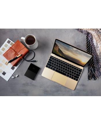 western digital Dysk zewnętrzny WD My Passport for Mac, 2.5'', 3TB, USB 3.1, czarny