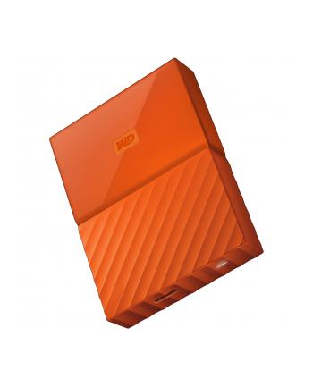 western digital Dysk zewnętrzny WD My Passport, 2.5'', 2TB, USB 3.1, pomarańczowy