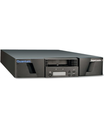 Quantum SuperLoader 3, LTO-6HH tape drive, Model C, 8 slots, 6Gb/s SAS, rack