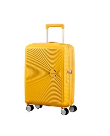 Spinner AT SAMSONITE 32G06001 SOUNDBOX-55/20 TSA,EXP bagaż, 4 kółka, żółta/złota