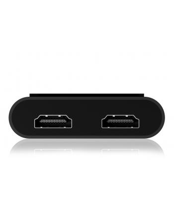icybox IB-SPL1026-TB3 Thunderbolt na dual HDMI