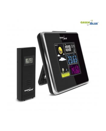 GreenBlue GB142 Stacja pogody bezprzewodowa IN/OUT temperatura wilgotność USB