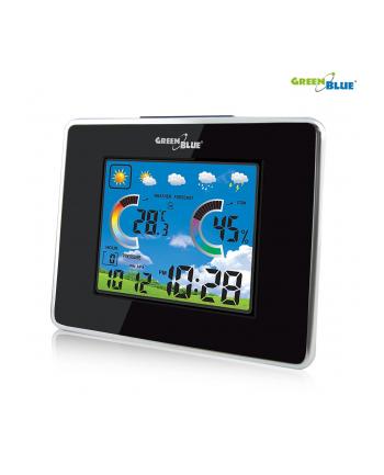 Greenblue GB145 Stacja pogody bezprzewodowa IN/OUT temp. wilgotność barometr