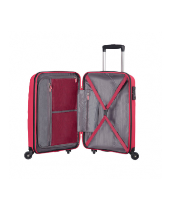 Wózek spinner AT SAMSONITE 85A40001 BonAir Strict S 55 4koła bag , róż azalia