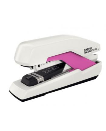 rapid Zszywacz Supreme Omnipress SO30c, biało-różowy