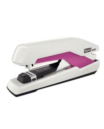 rapid Zszywacz Supreme Omnipress SO60, 60 kartek, biało-różowy