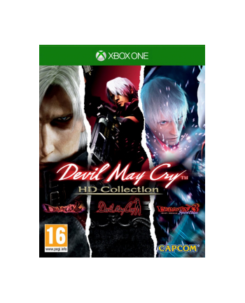 cenega Gra Xbox One  Devil May Cry HD Collection