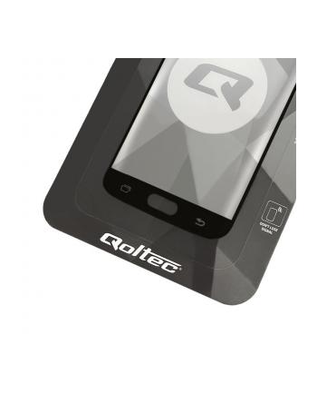 qoltec Hartowane szkło ochronne PREMIUM na Samsung Galaxy S8 Plus |    czarne