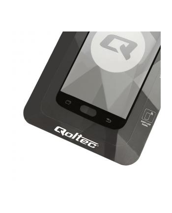 qoltec Hartowane szkło ochronne PREMIUM na Samsung Galaxy S9 Plus |    czarne