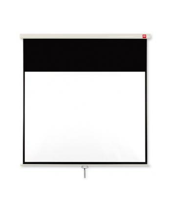 Ekran scienny reczny 196x146cm/MattWhite