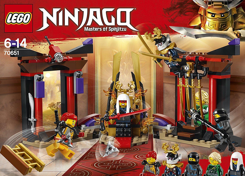 Lego 70651 Ninjago Starcie W Sali Tronowej P6 Lg70651 Net Spl