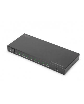 digitus Rozdzielacz/Splitter HDMI 8-portowy, 4096x2160p 4K UHD 3D, HDCP 2.2