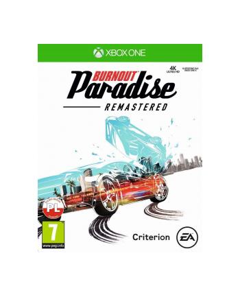 ea Gra Xbox ONE Burnoutr Paradise Remastered