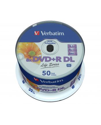verbatim DVD+R 8x 8.5 GB 50P DL Printable