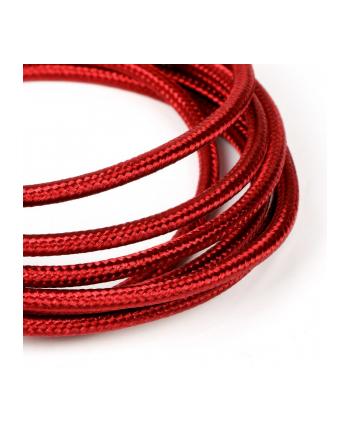 tb Kabel USB-Micro USB 1.5 m rubinowy sznurek