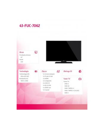 finlux 43'' LED 43-FUC-7062