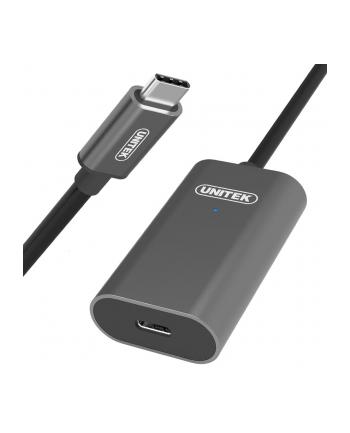 unitek Przedłużacz aktywny USB Typ-C 3.1, 5m, M/F, U305A