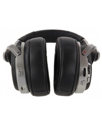 sony Słuchawki bezprzewodowe MDR-HW700DS czarne, 9.1 surround virtual