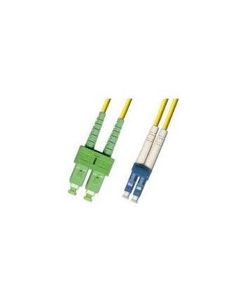 SC/APC-LC/UPC 3m 9/125 OS2 SM Duplex LSZH OD: 2mm, 0.3db