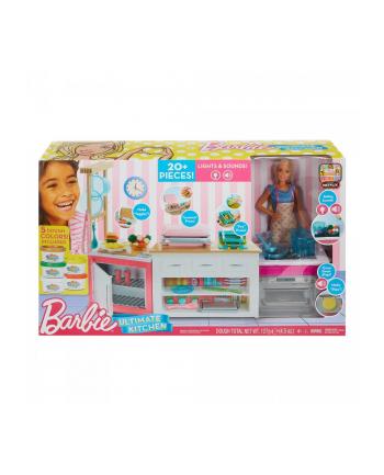 Barbie Idealna kuchnia zestaw z lalką FRH73 p2 MATTEL
