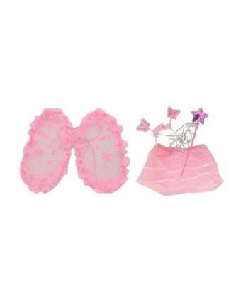 norimpex Strój skrzydła róż. spódniczka z diamentami + opaska