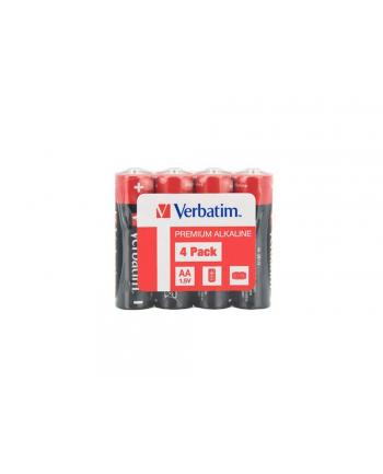 verbatim Bateria alkaliczna LR6 (AA)(4szt.) shrink