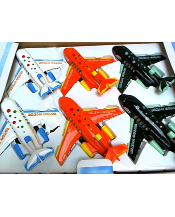 hipo Samolot 16 cm z dźwiękiem HXLK02