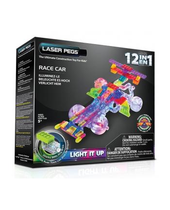 LASER PEGS 12w1 klocki wyścigówka świecące G870B