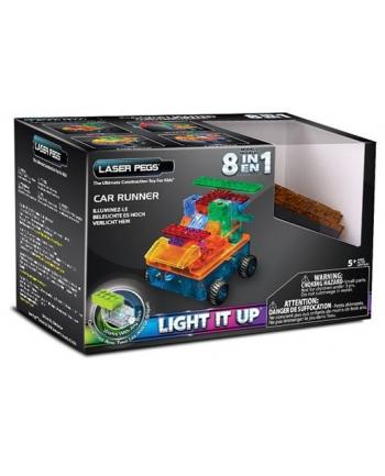 LASER PEGS 8w1 klocki auto świecące RN1320B