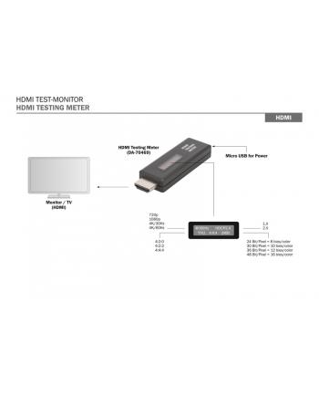 digitus Tester sygnału HDMI