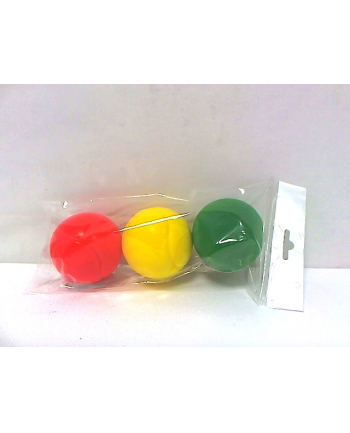 bĄczek Piłki z gąbki 3 szt. 4098