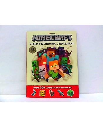egmont Minecraft Album przetrwania z naklejkami 58.11.13.
