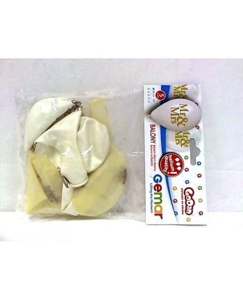 godan Balony Premium Hel Mr&Mrs GMS120/759
