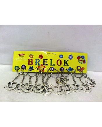 midex Brelok kotwica metalowa 12szt/op 2349E