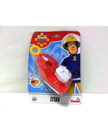 simba Strażak Sam łódka z naciągiem Titan 925-2134