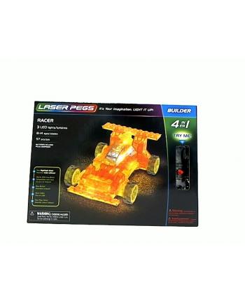 LASER PEGS 4w1 Racer 41011