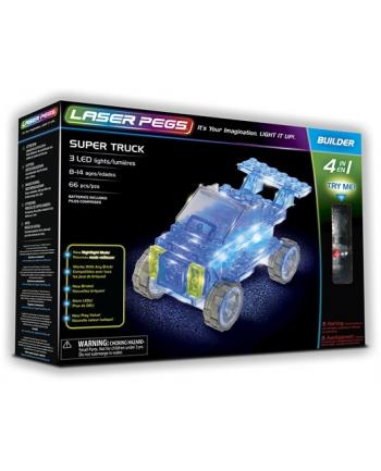 LASER PEGS 4w1 Super Truck 41013