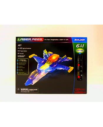 LASER PEGS 6w1 Jet 61013