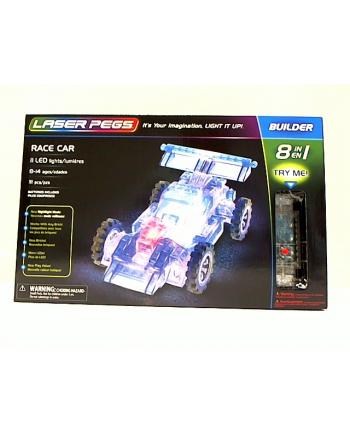 LASER PEGS 8w1 Race Car 81010
