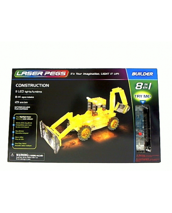 LASER PEGS 8w1 Construction 81011