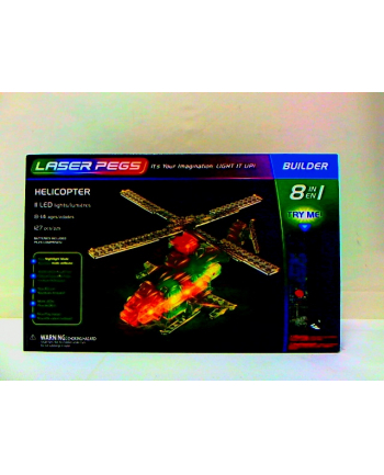 LASER PEGS 8w1 Helicopter 81012