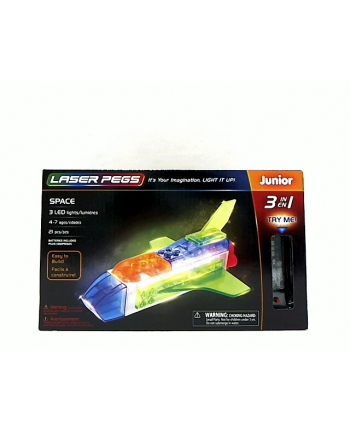 LASER PEGS 3w1 Space 31010