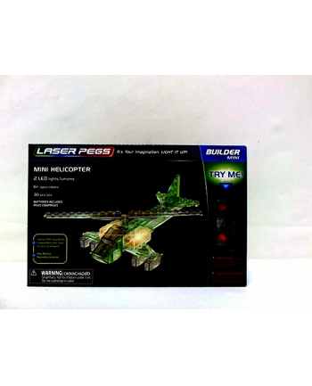 LASER PEGS mini Helicopter 30el 10010