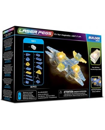 LASER PEGS mini Plane 30el 10011