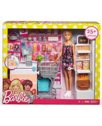 mattel Barbie supermarket zestaw z lalką FRP01 /3