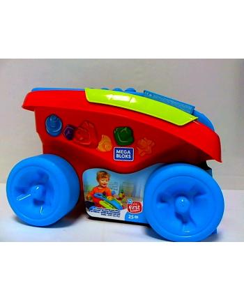 Mega Blocks sorter - wózek z klockami FVJ47 /2 Mattel