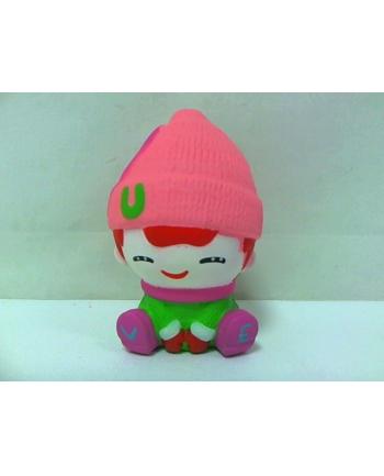 rozette Squishies - laleczka w różowej czapce SQ-241 58594
